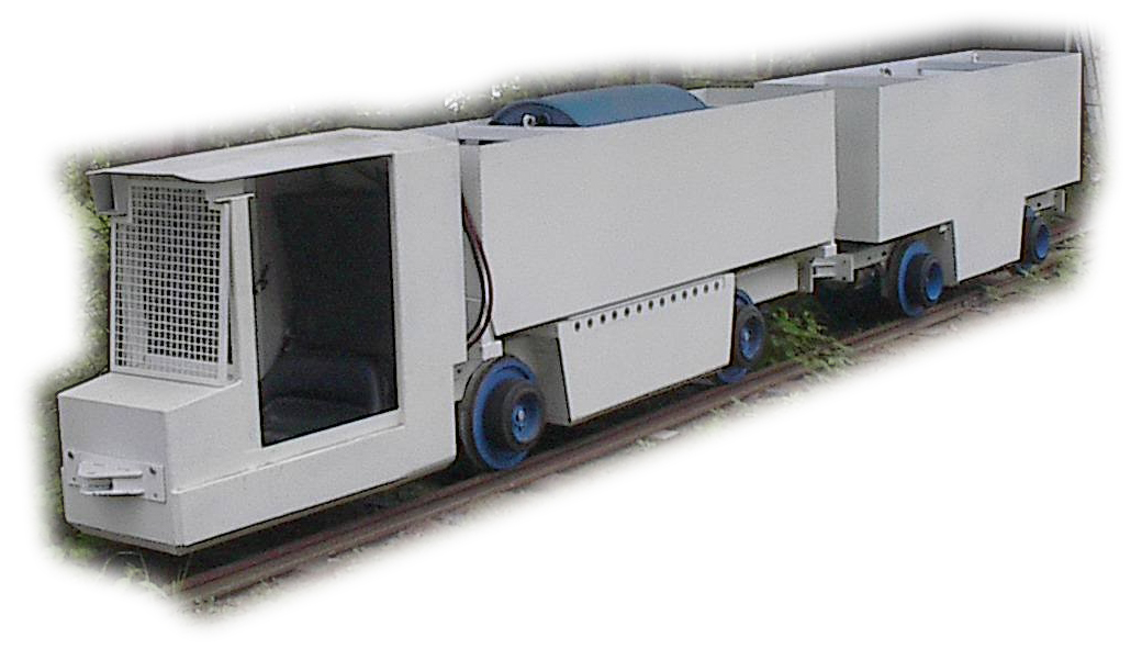 Inclined Rail Haulage