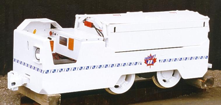 5 ton tunneling locomotive