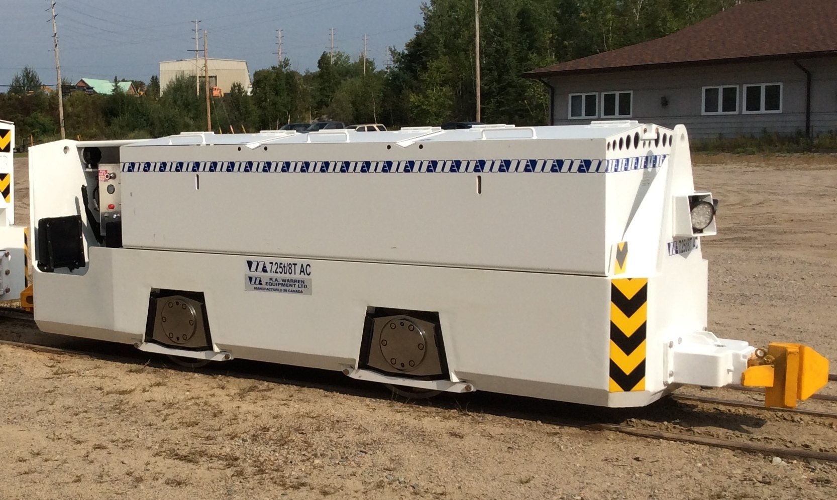 8 ton tunneling locomotive