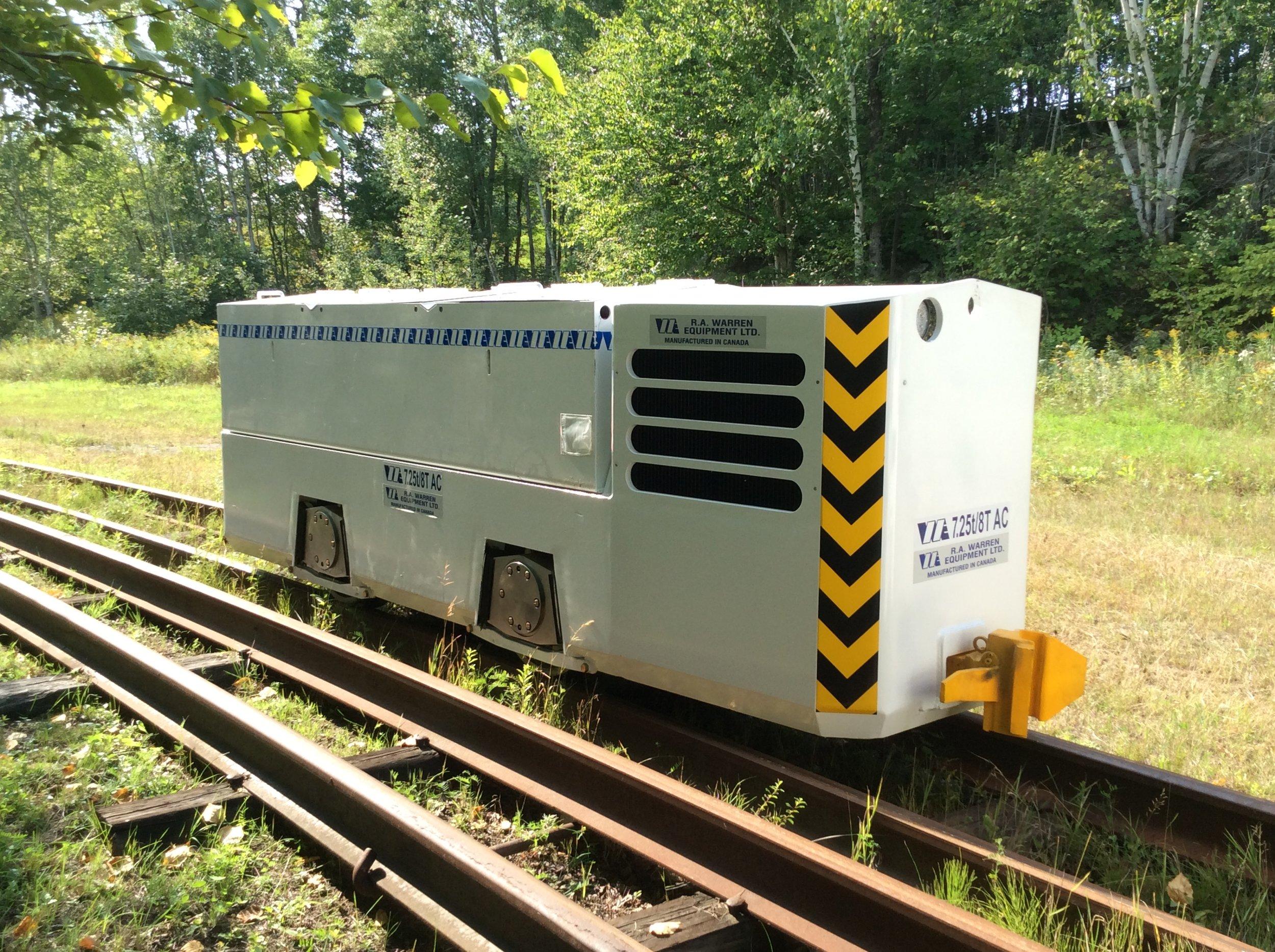 tunneling locomotive