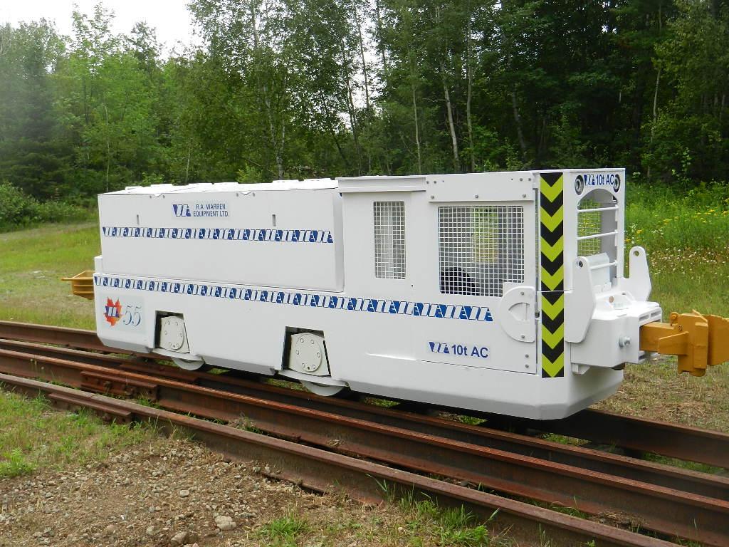 10 ton tunneling locomotive