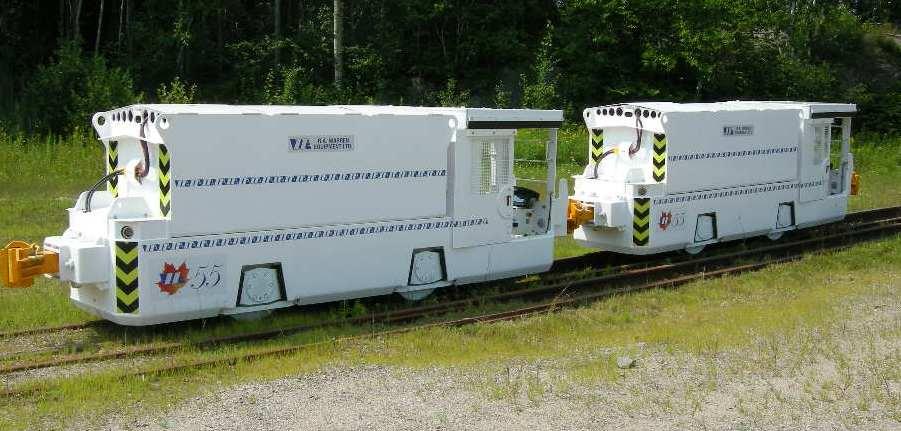 tandem tunneling locomotive