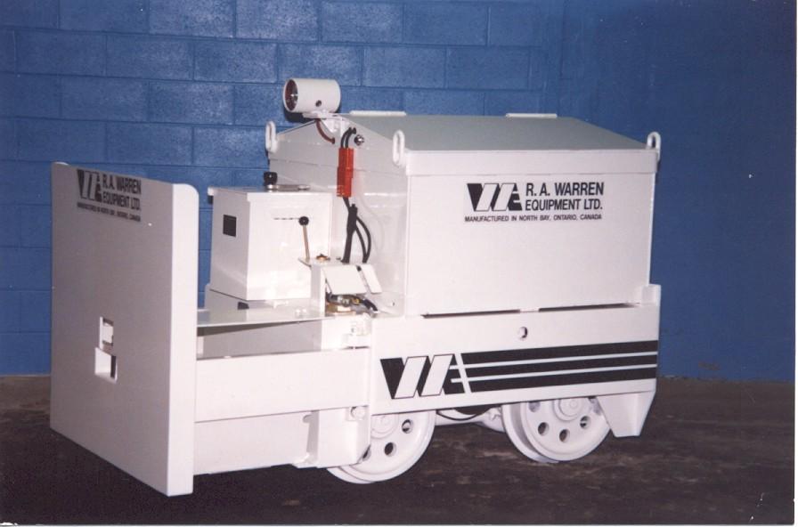 Mining Locomotive - Ready for use