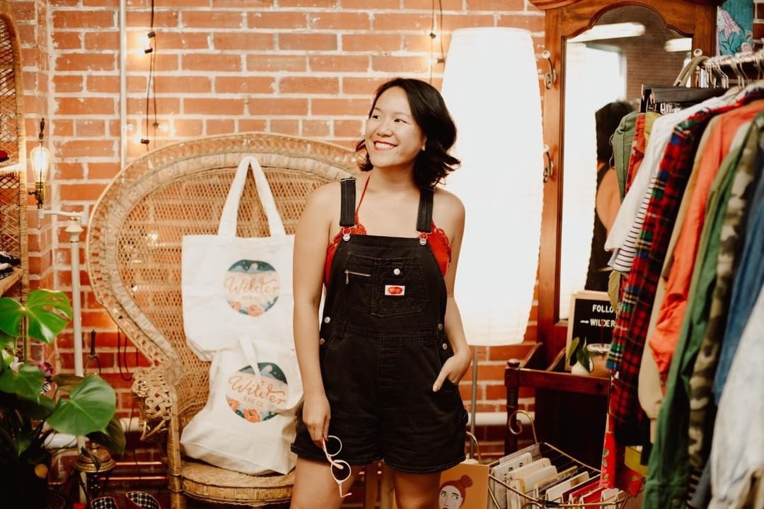 S.V Yu, Founder and Owner of Wilder Bag Co. (Photo by: Mary Kaitlin)