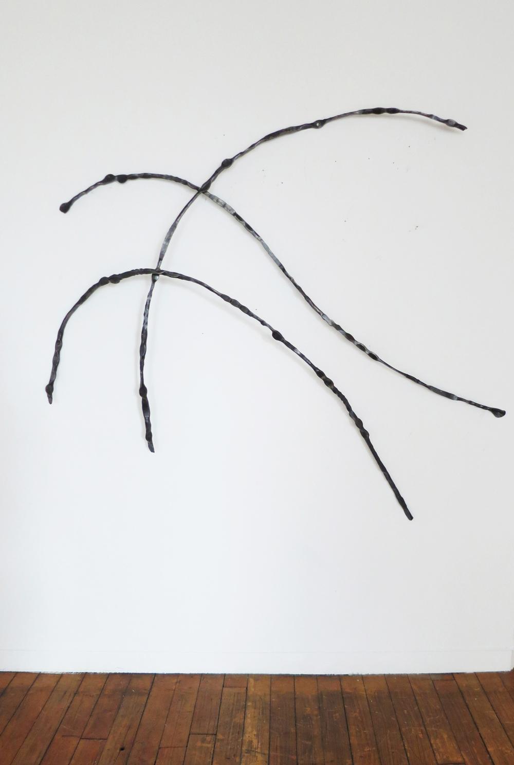 Iron Calligraphy VIII, 2015