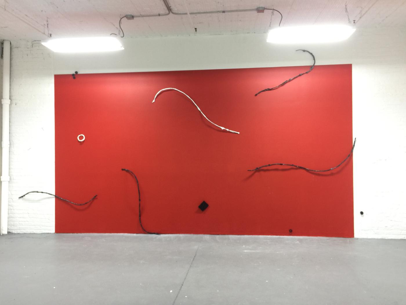 Red Dance, to Howard Hodgkin, 2017
