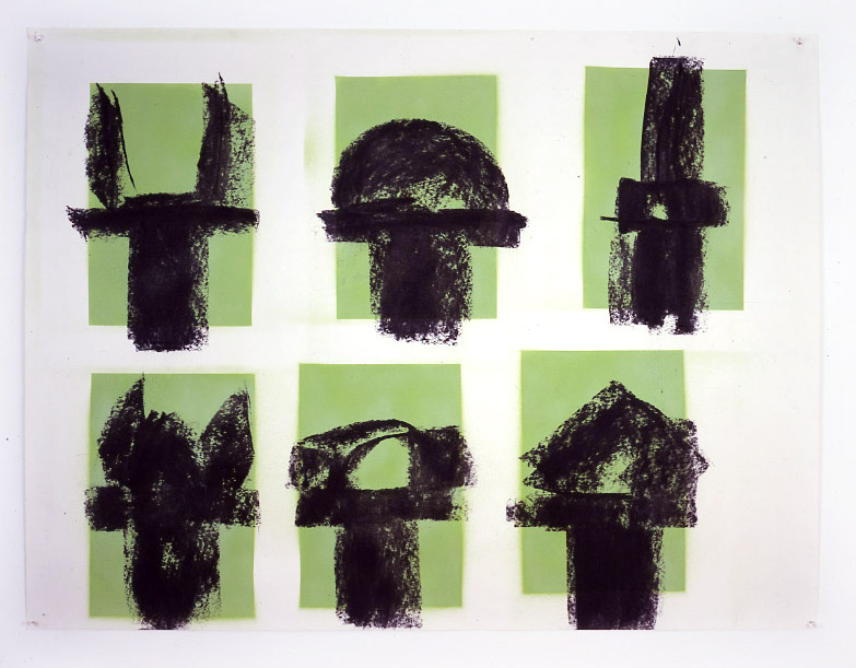 Green Commandment I, 1987