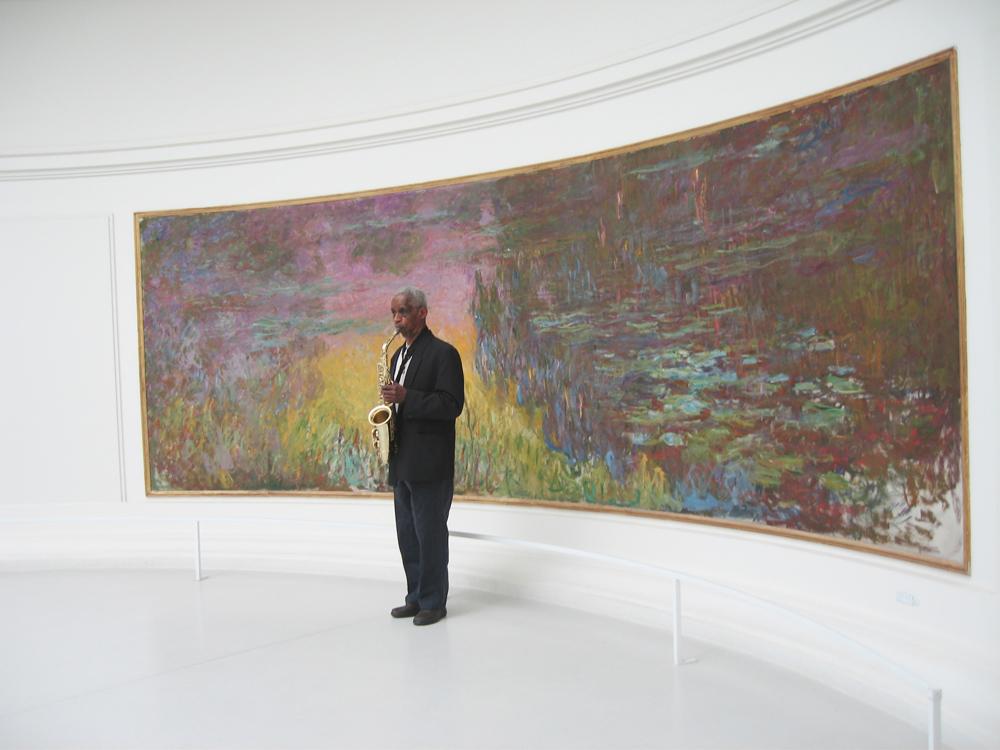 Kirili et les Nymphéas, Musée de l'Orangerie, Paris , 2007