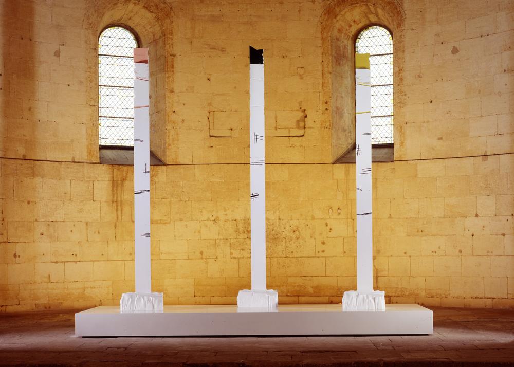 """Ascension""outside at the Abbé de Montmajour in Arles, 2011"