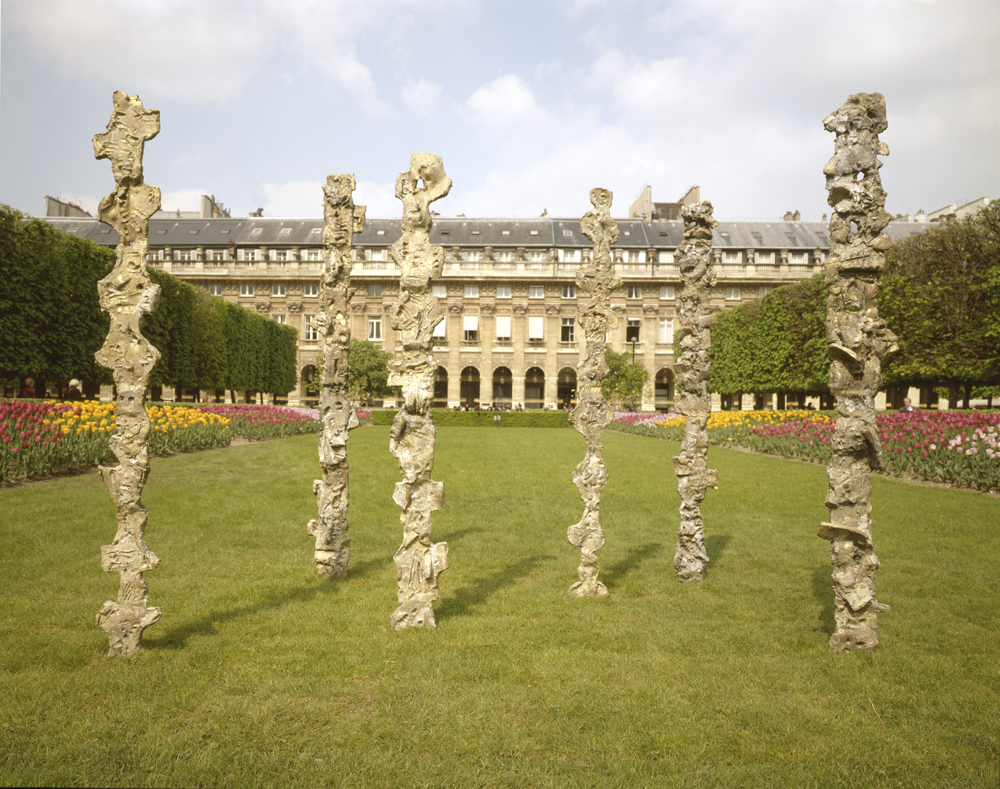 Totems, Jardin du Palais-Royal, Paris, 2005