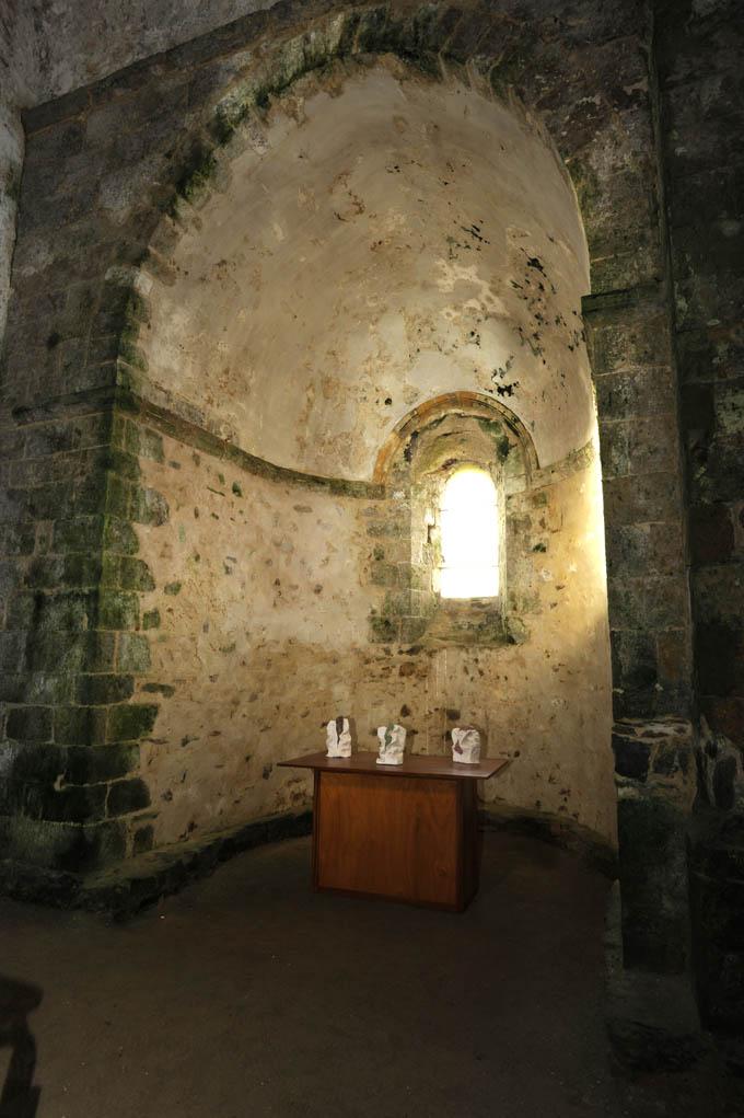 Abbaye de St Jean d'Orbestier, Château d'Olonne, 2009