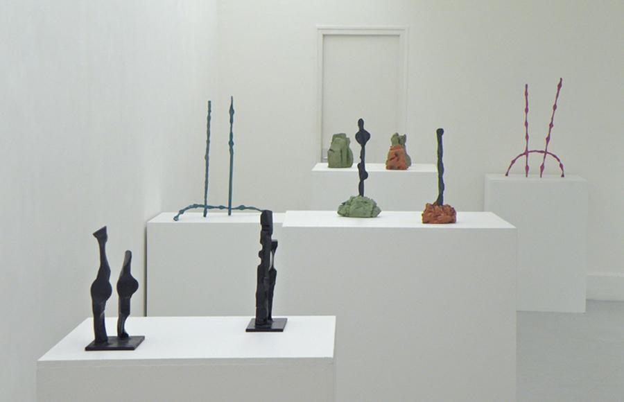 Alain Kirili & Ron Gorchov at theGalerie Jean-Luc & Takako Richard, Paris, 2009