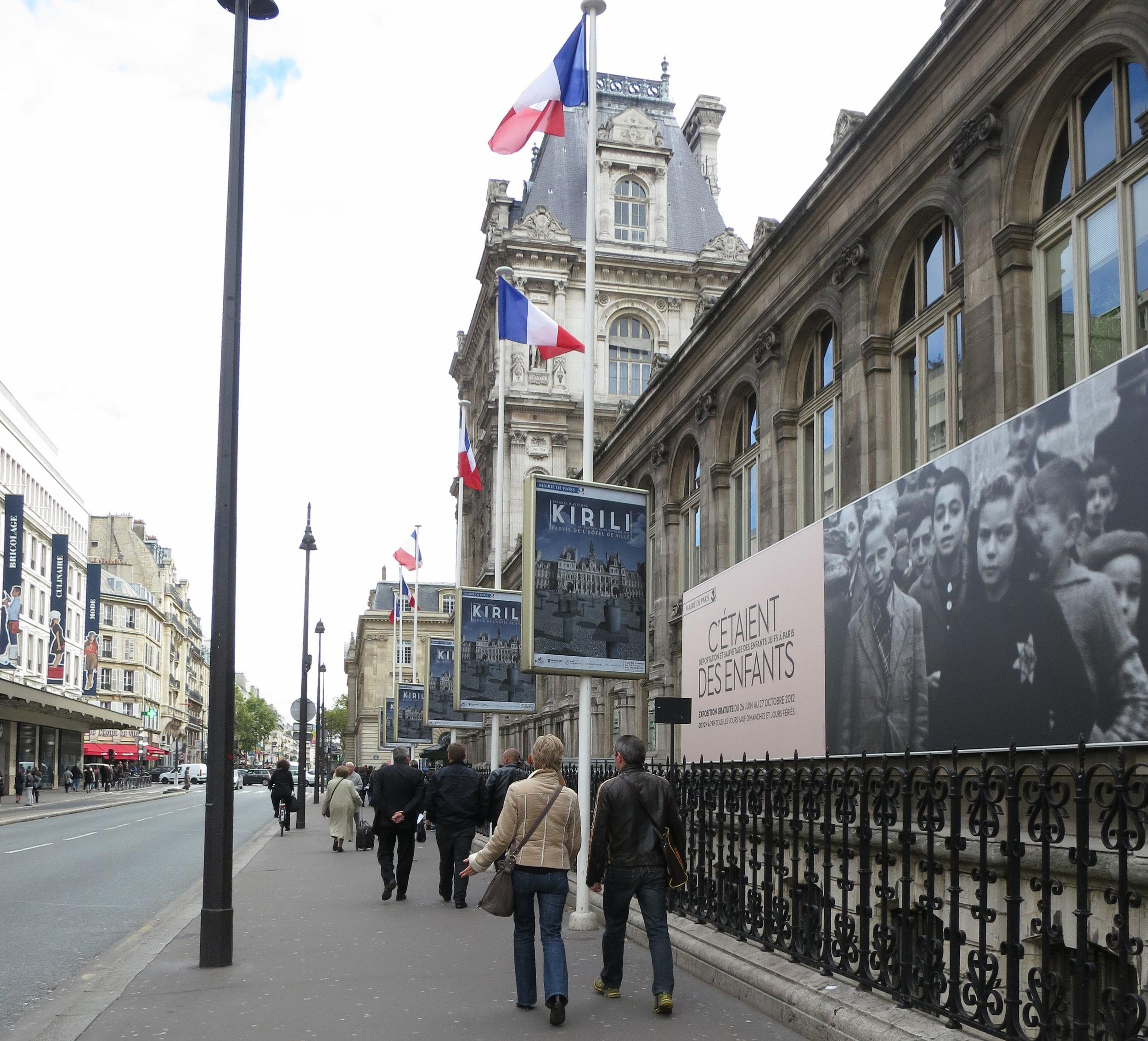 """""""Rythmes d'Automne"""", Hôtel de Ville, Paris, 2012"""