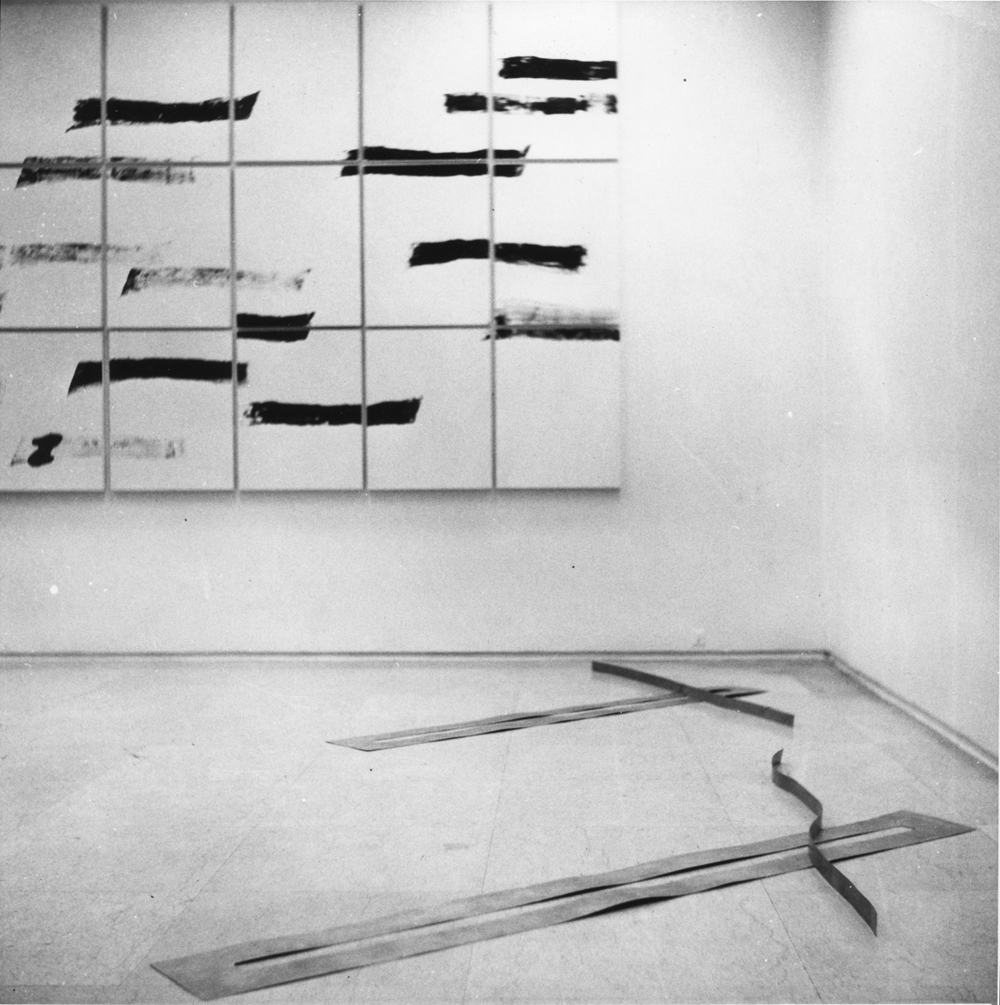 Sonnabend Gallery, Paris, 1972