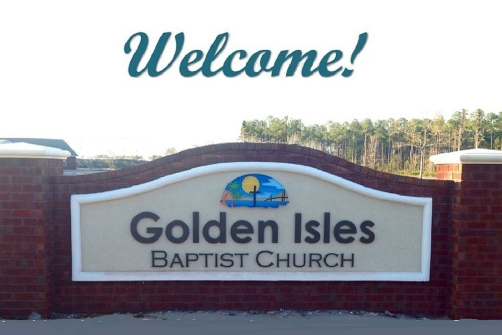 Golden Isles Baptist Church - Pastor: Shane Phillips255 Harry Driggers BlvdBrunswick, GA 31525(912) 275-7406