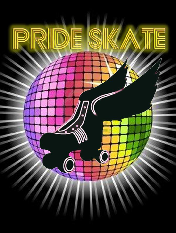 Pride Skate at Southgate Roller Rink - The monthly event that started it all! Host of the Wednesday Pride Skate and Saturday Youth Pride Skate.
