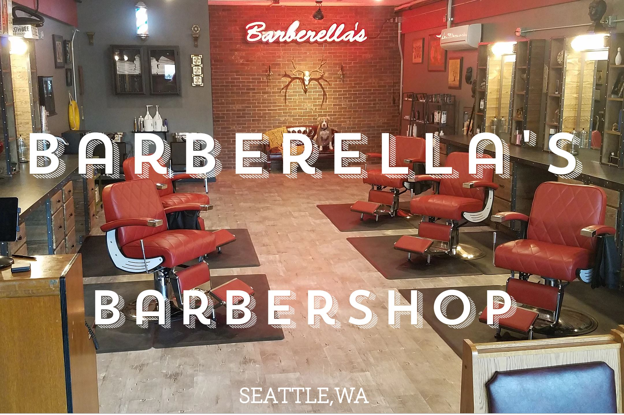 Barbarella's Barbershop - Thanks for the raffle donations!
