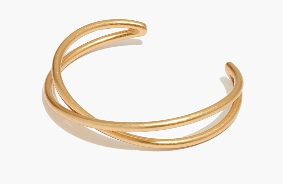 Madewell Crossover Cuff Bracelet