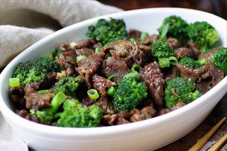 Paleo Beef with Broccoli →