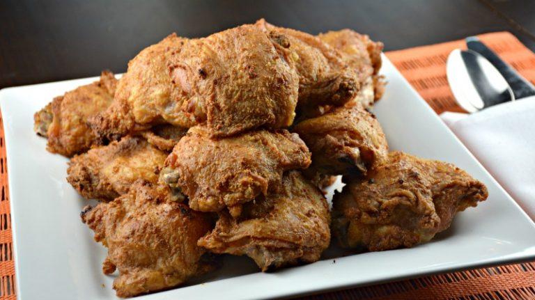 Crispiest Baked Chicken Thighs
