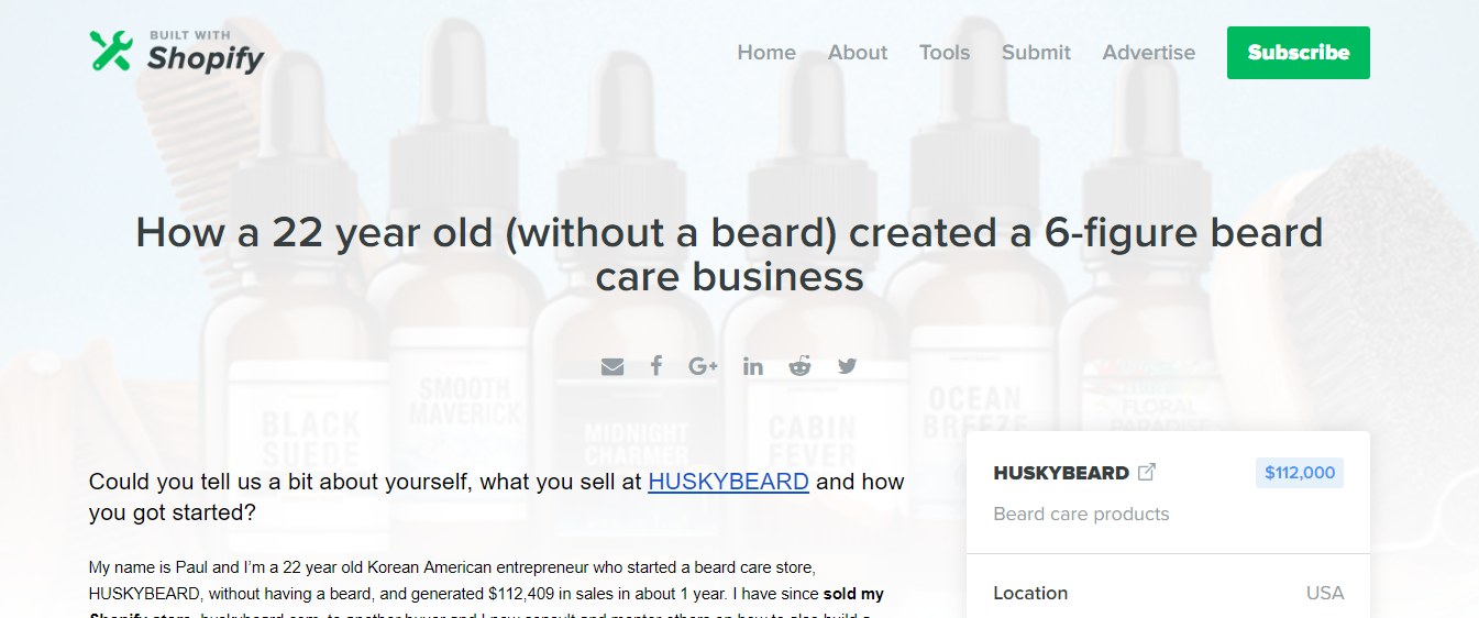 HUSKYBEARD   How a 22 year old  without a beard  created a 6 figure beard care business.png