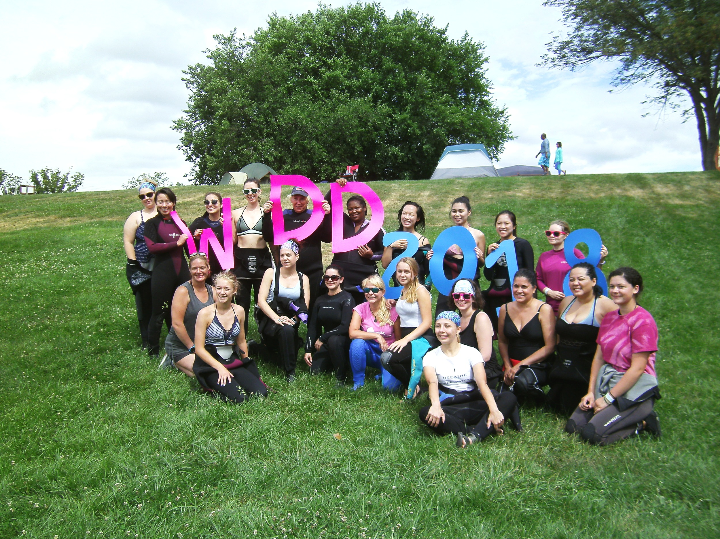 July 20th is International Women's Dive Day at Dutch Springs, PA