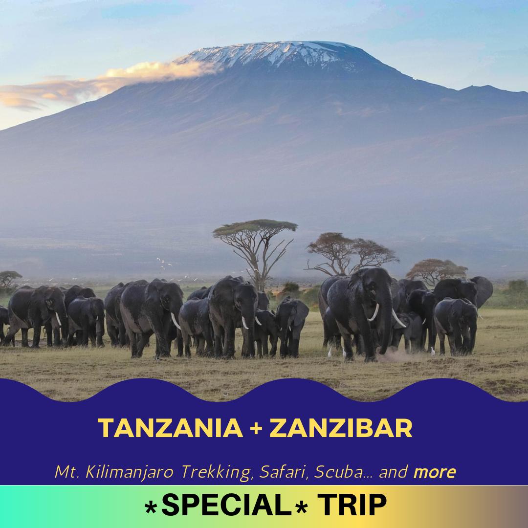 Tanzania & Zanzibar   Details coming soon!
