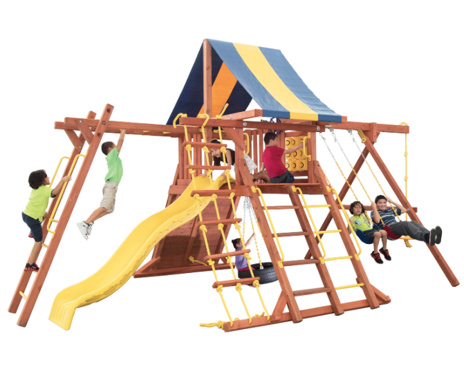 Parrot Island Playcenter Config. 3 w/ Tarp