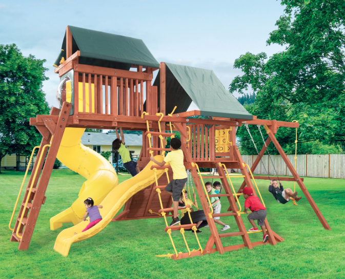 Parrot Island Playcenter Config. 5 w/ Tarp