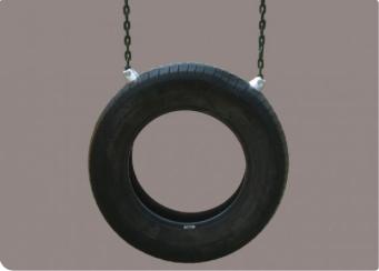 Vertical Tire Swing