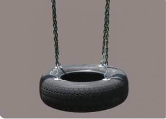 Horiztonal Tire Swing