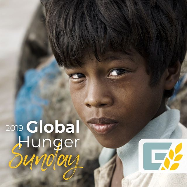 Get ready for #globalhungersunday! Your dollars support @globalhungerrelief in their efforts to feed the hungry with the Bread of Life.  #GHR #breadoflife #endworldhunger #chronichunger #worldhunger #southernbaptistconvention