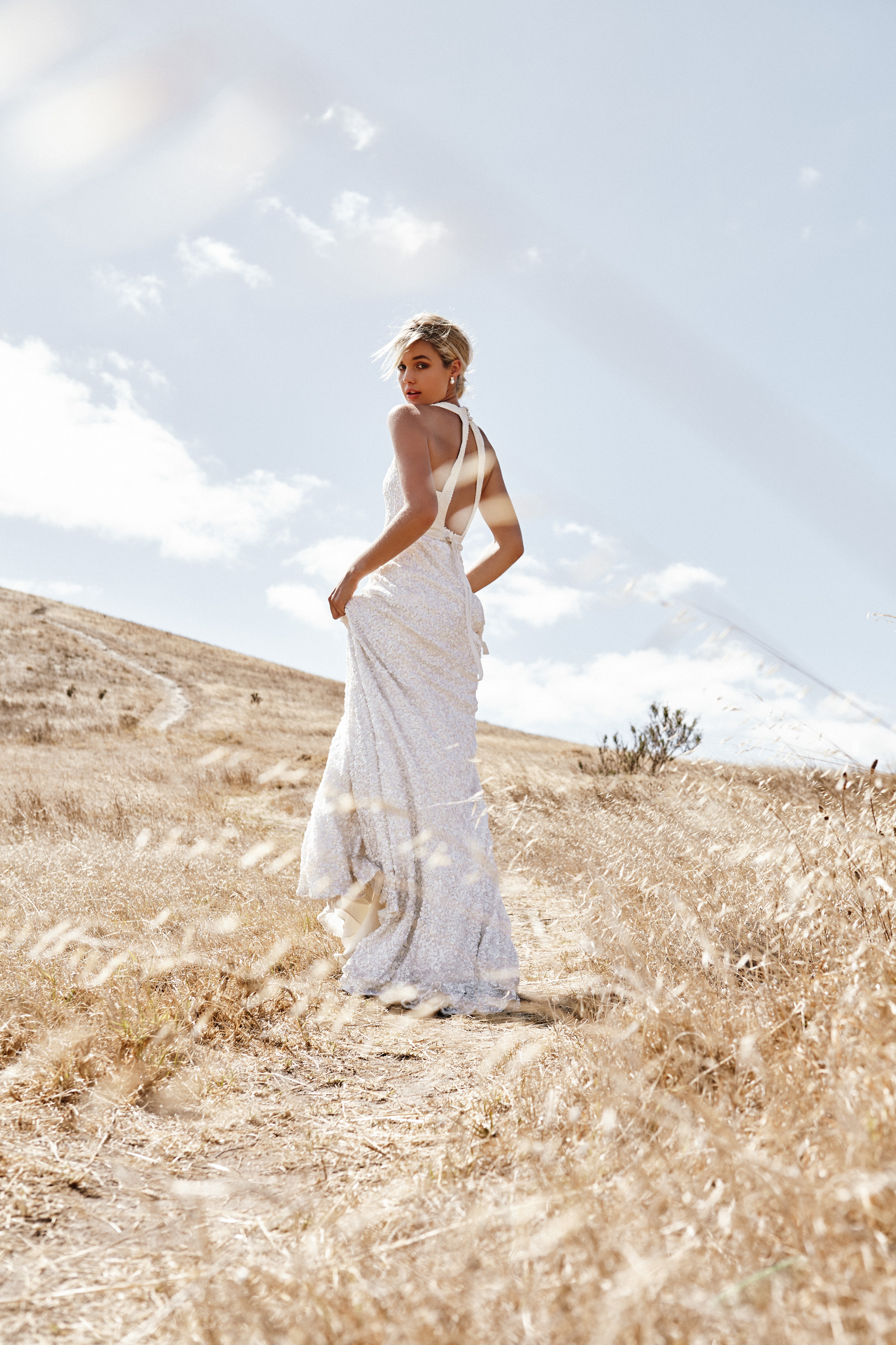 High Neck Wedding Dress available at The Bridal Studio Bridal Shop in downtown Salt Lake City