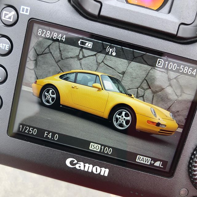 Classic, Beautiful, Thrilling! #Porsche #Yellow #WestCoastExoticCars #California #Canon #5DMarkIV