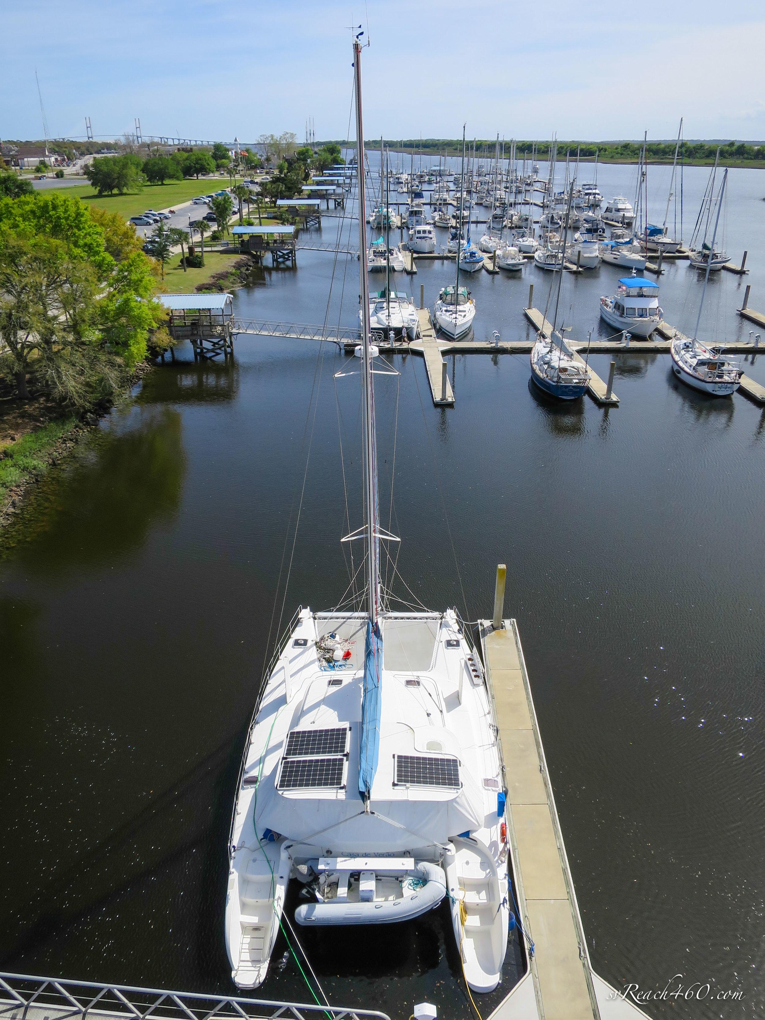 Docked in Brunswick