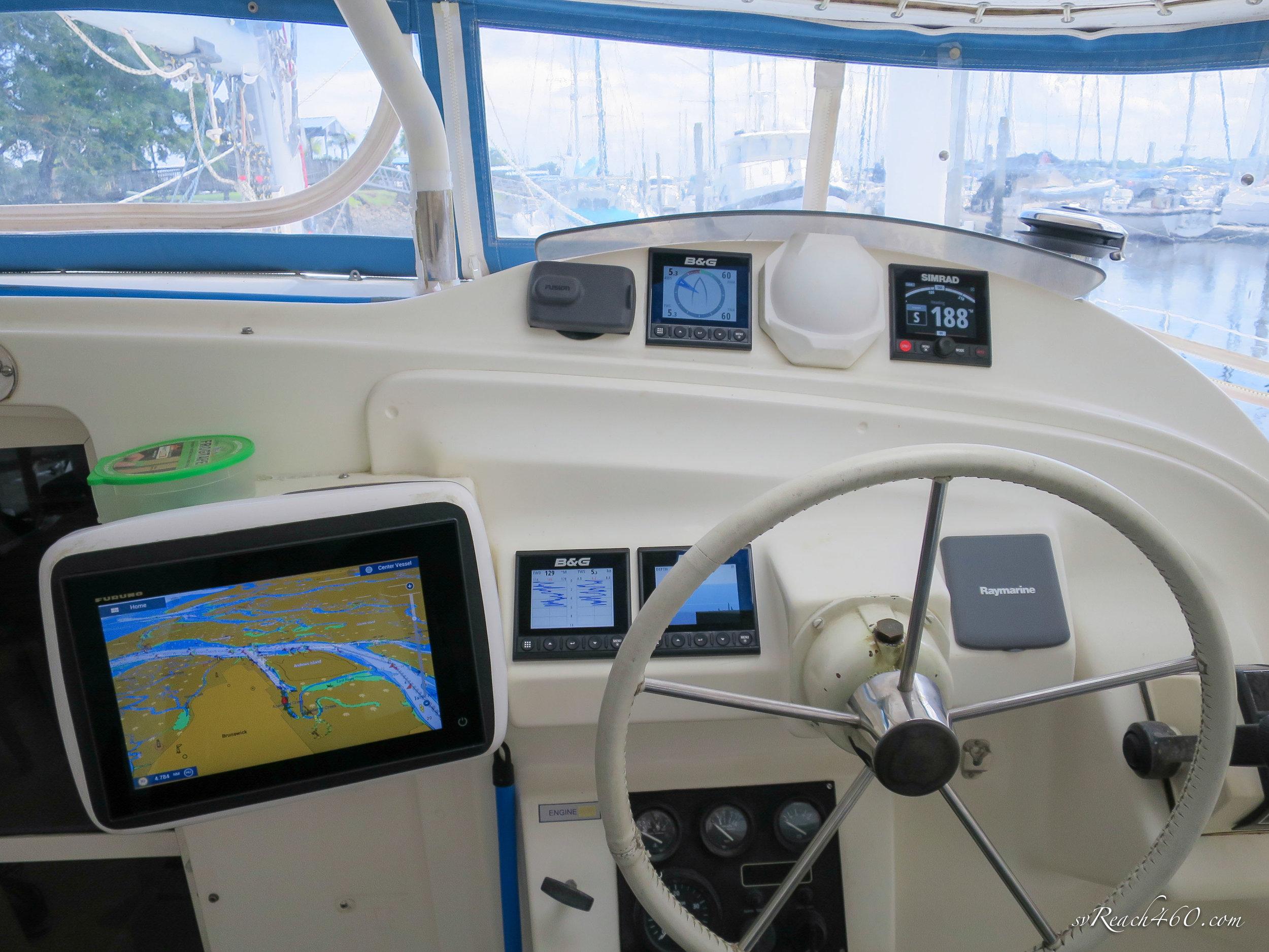 New navigation suite