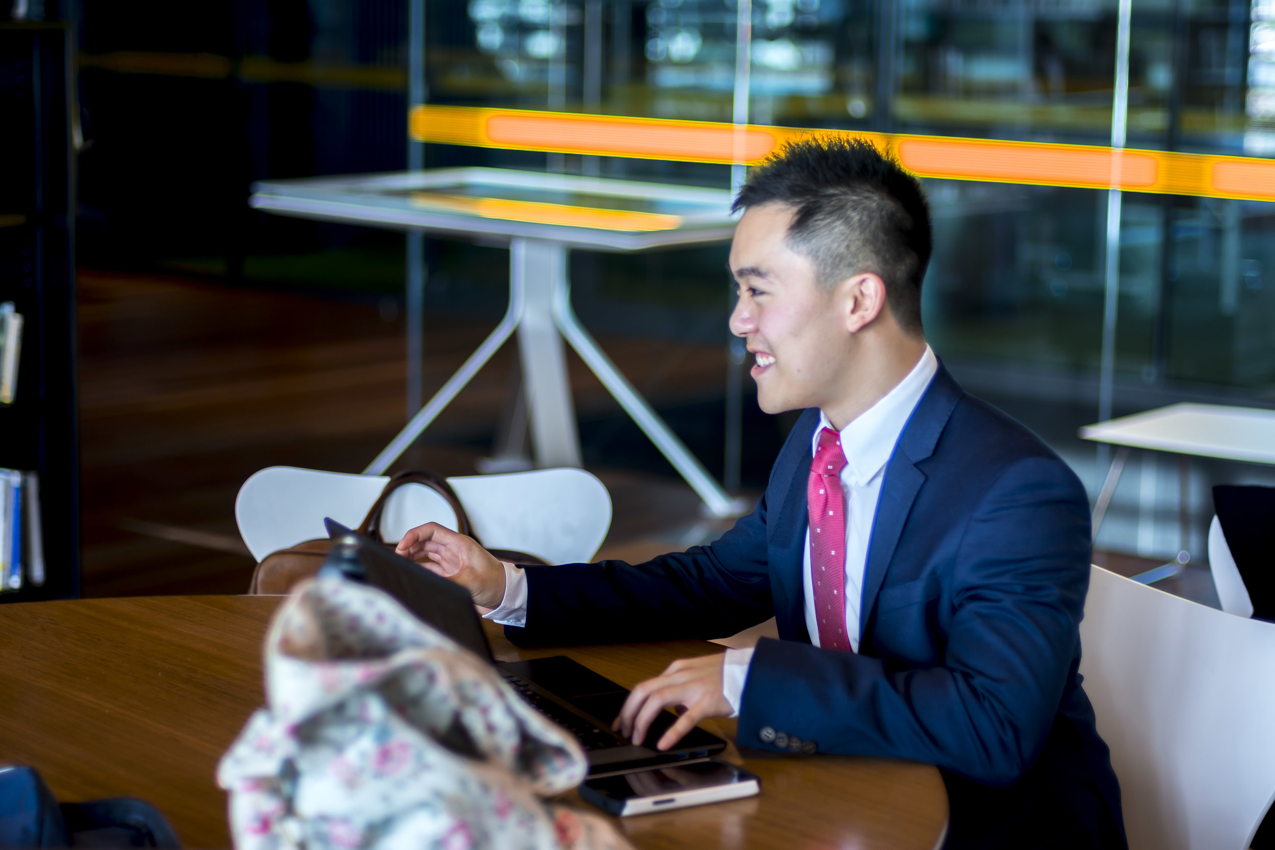 "Students - ""Joining GCG can be considered as one of the best decisions I made at university. GCG is not only a platform for me to develop skills that will benefit me career wise; it is also a place for me to meet talented people, network and most importantly, make friends.""– Michael Wang, Project Consultant."