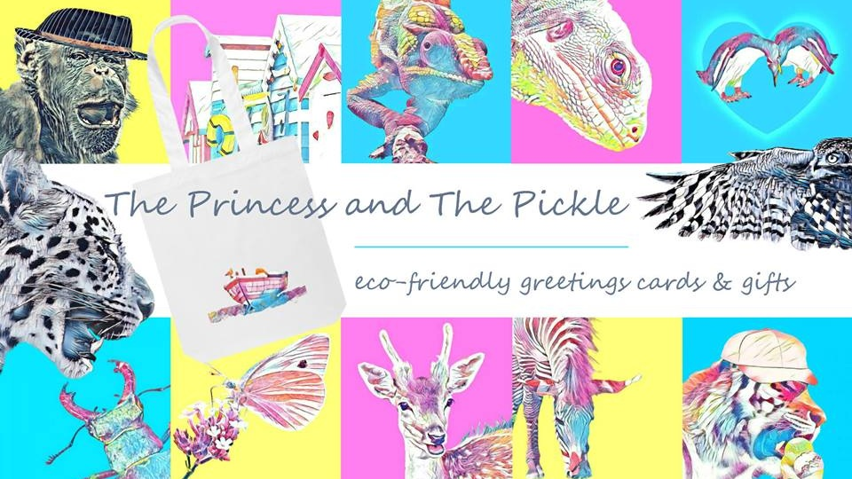 The Princess and The Pickle - Based in Hampshire, The Princess and The Pickle create eco-friendly greeting cards and gifts, featuring original photography and designs (many of which are inspired by the New Forest). All cards are printed on recycled card, with recycled paper envelopes and displayed in biofilm plastic-free presentation sleeves.