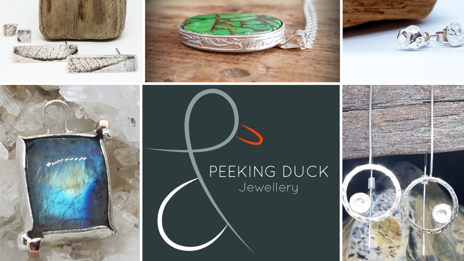 Peeking Duck Ltd - After years working in Asia, the south of UK & London, I decided to go for a radical life change and come out of the corporate world, and set up at home doing something I love. After completing a course at Uni, Peeking Duck was born in 2018. Handmade Silver Jewellery, with a heavy influence from a former life in the Far East and the local Dorset countryside. - Natalie, Director & DesignerThere comes a point in life where you feel the need for change. Somethings will nudge you, others will inspire you. I came to that point 2 1/2 years ago, and although I was happy in what I was doing, I felt the need to try something completely different. After completing a course at Uni, I fell in love with silversmithing and started to make a few things, buy new tools, notice more inspirations. With a heavy influence of a past life living and working in Asia, and the beautiful surrounding coastline and forests I started to design and before I knew it, was bitten by the bug of 'The Maker'. I love what I do, and feel more rewarded than ever when a piece you have made brings a smile or a tear of joy. I feel truly blessed to be able to do this and purchase all my silver from bullion and reputable suppliers. I am now a registered jeweller in the UK, and with my hallmark registered, am a fully fledged jewellery maker.