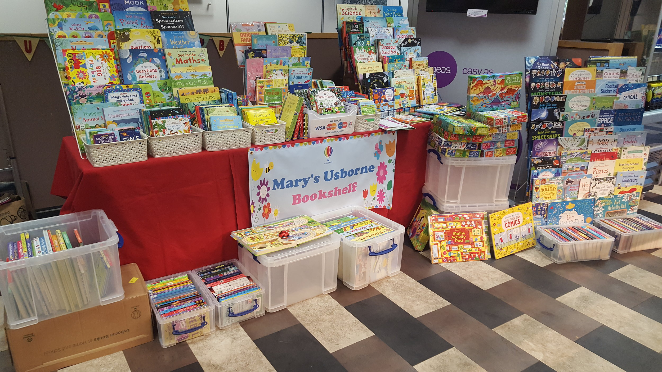 Mary's Usborne Bookshelf