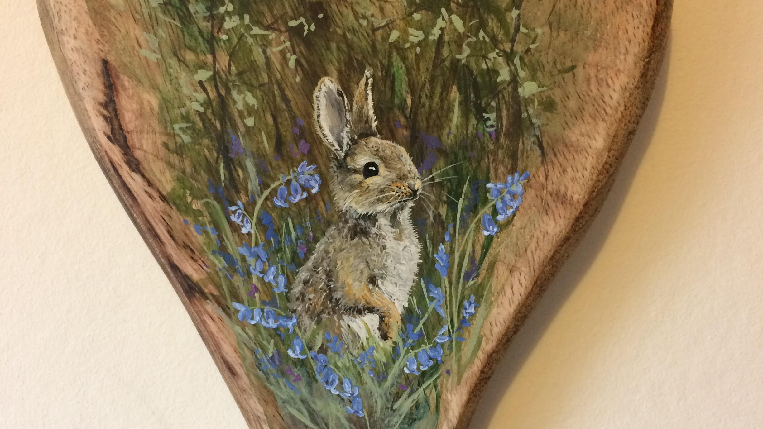 Faye Dunwoodie - Country cuties by Faye. Lovely hand painted pieces of art capturing our lovely wildlife on wood, slate and canvases. Great idea for that unique gift.
