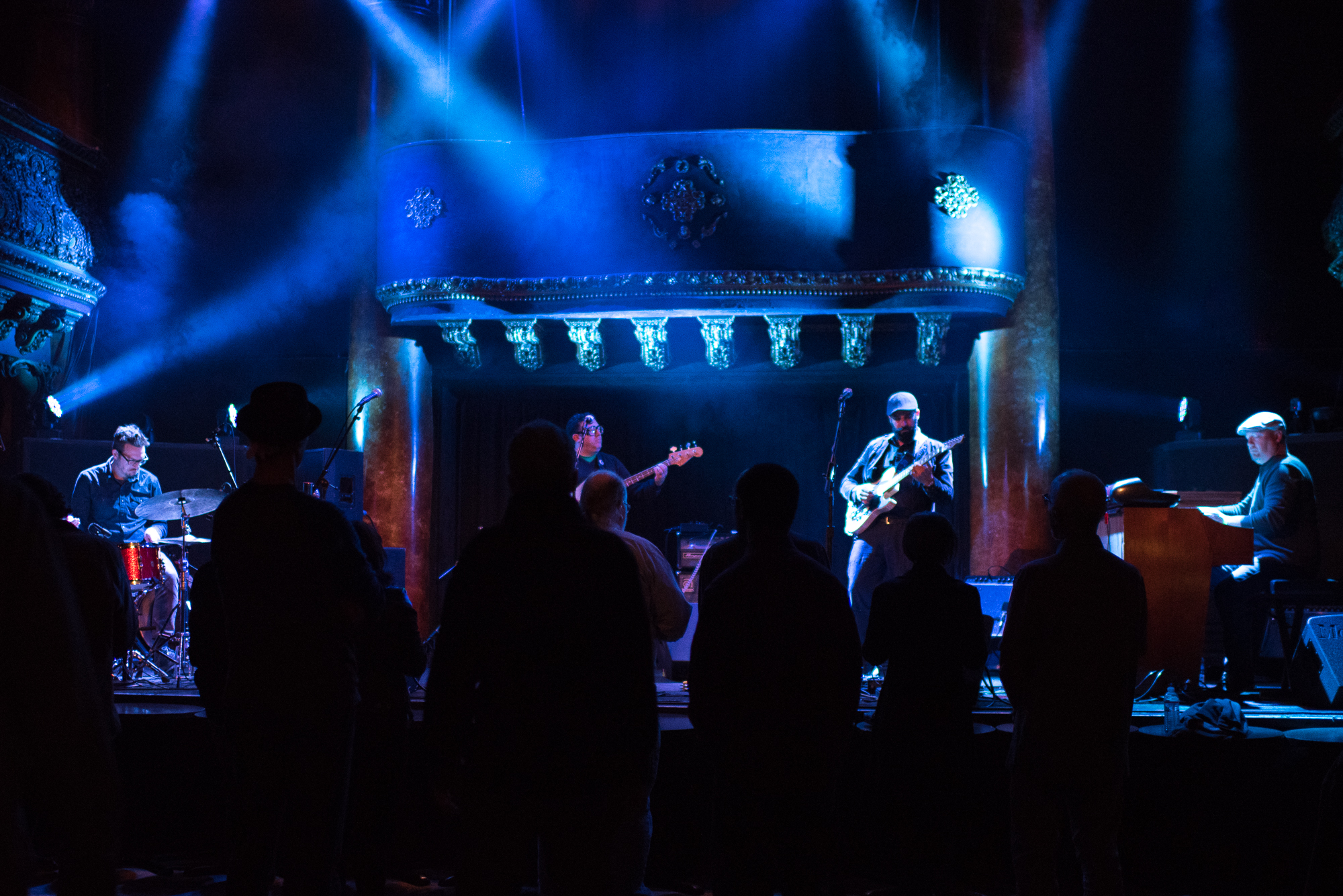 The M-Tet, Great American Music Hall (Photo: Hillary Goidell)