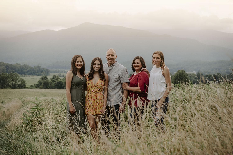 Family Photos in the Smokies