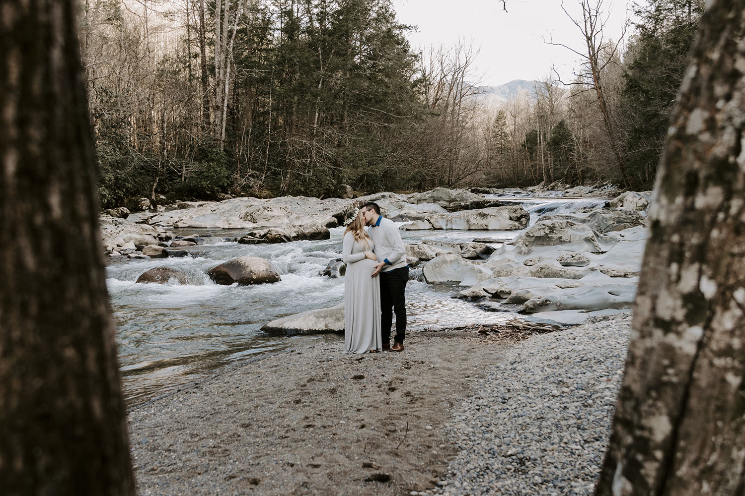 Maternity Photos in the Smoky Mountains