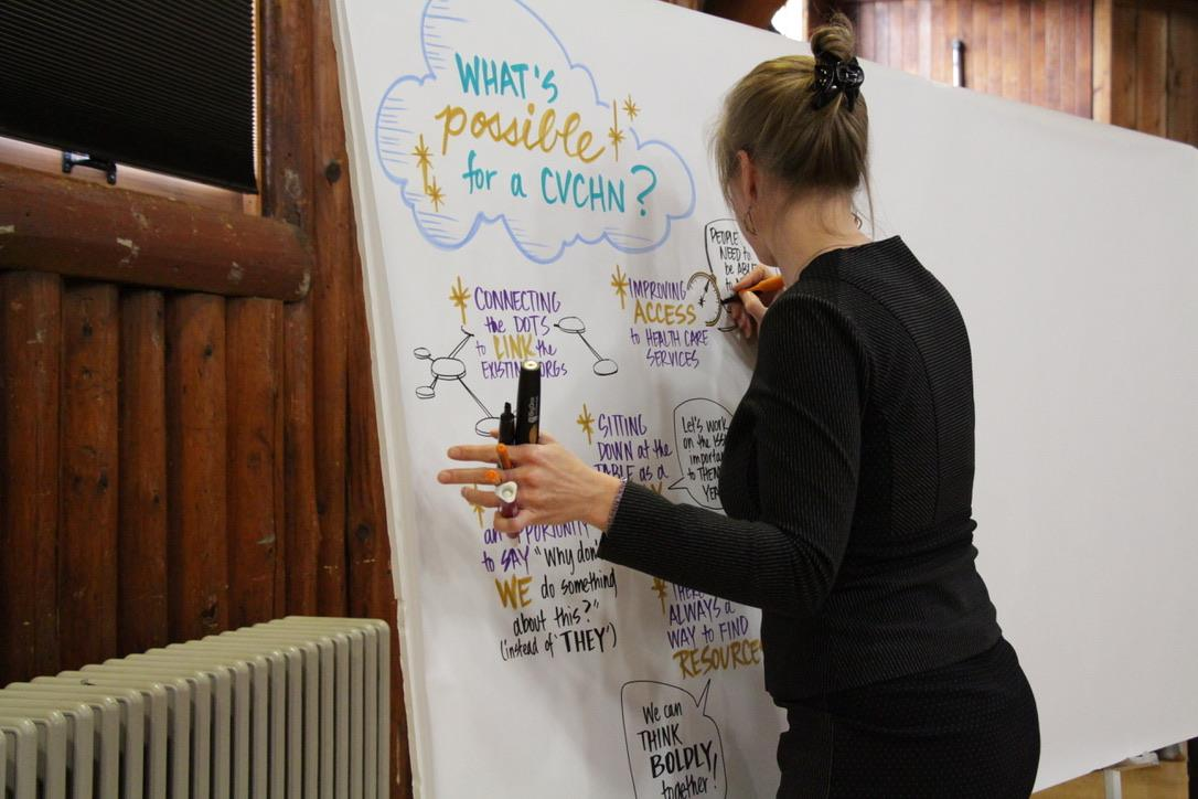 Community Forum - November 2017Over 150 people of the community gathered at the Native Sons Hall in Courtenay. They learned about Community Health Networks and considered what a network in the Comox Valley could accomplish to improve health and well-being. Participants decided to move forward with creating a health network.