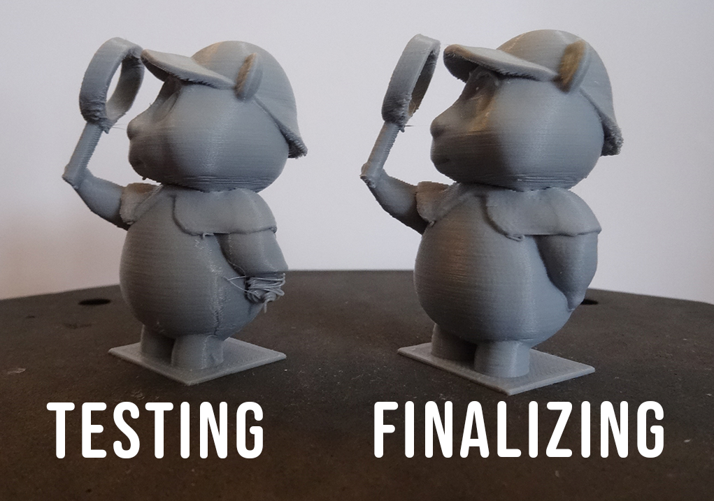 3D Print Testing Workflow