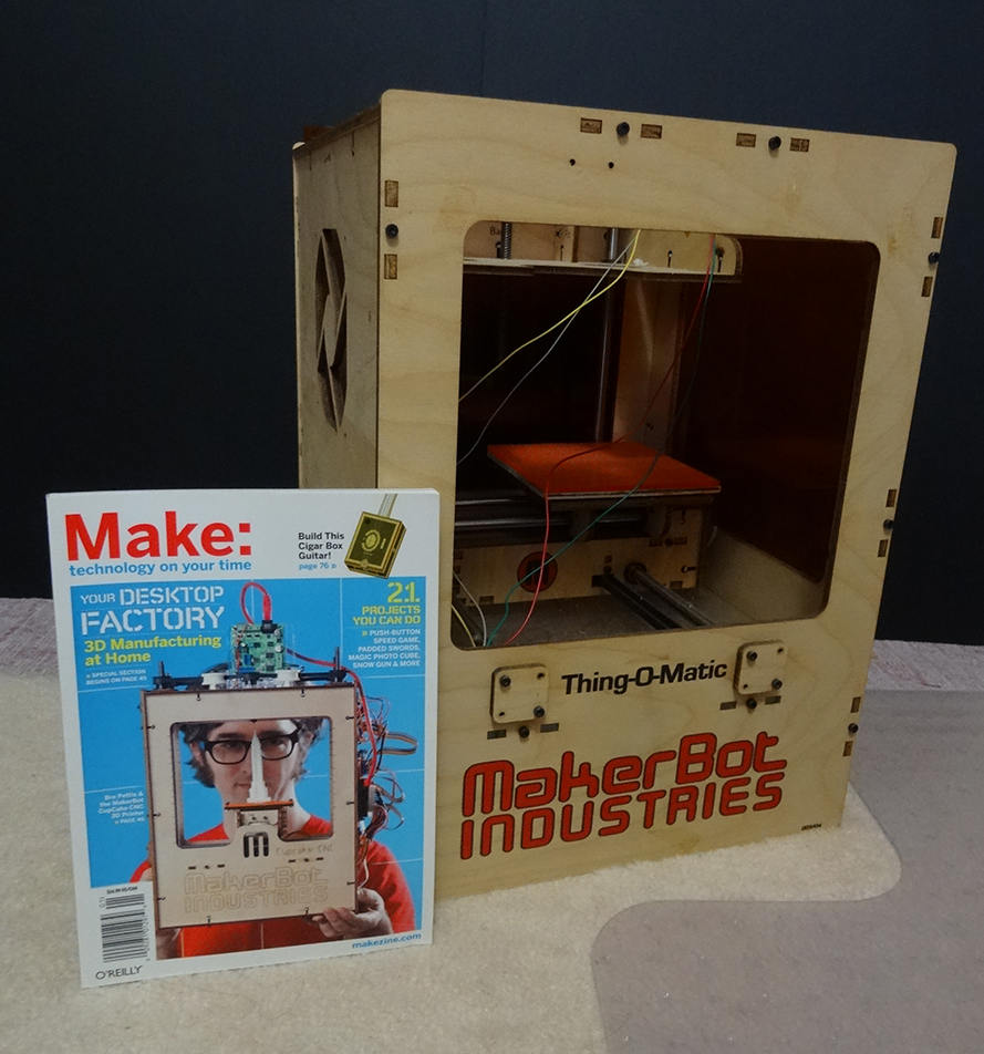 How I Started … - I started getting into digital fabrication when I first heard of a 3D printer called the Cupcake. It was featured on the cover of Make magazine.