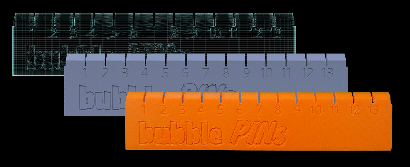 In House Designed & Personalized Ruler