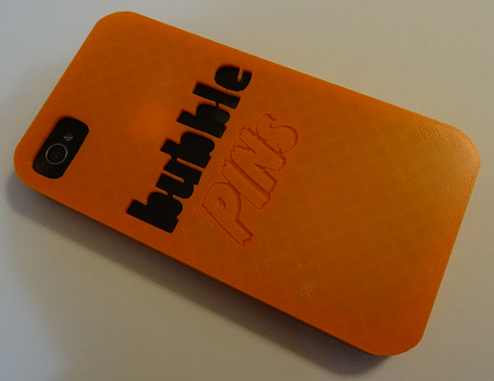Customized 3D Printed Cellphone Case
