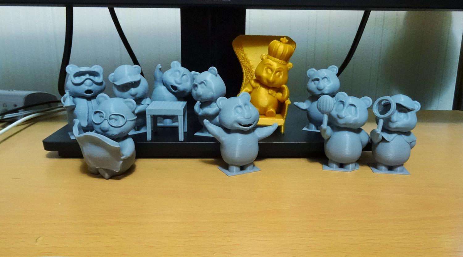 Oliver 3D Printed Teddy Bears